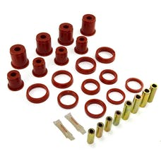 Rugged Ridge 18362.01 Front Control Arm Bushing Kit, Red