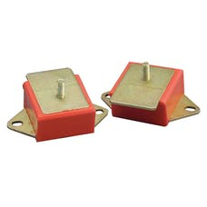 Rugged Ridge 18390.01 Engine Mounts, Red Polyurethane, Pair