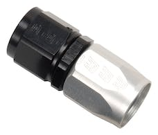 Russell 610013 Hose End - Full Flow Straight -4 Blk/Clr Finish