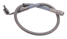 Russell 655042 Brake Line Assembly  18in 90-Deg #3 To Straight #3    Endura / Street Legal