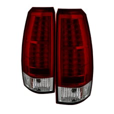 Spyder Auto 5032478 (Spyder) Chevy Avalanche 07-13 LED Tail Lights-Red Clear
