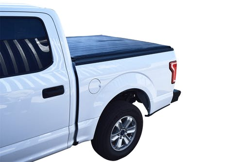 Steelcraft TN12403 Roll-Up Tonneau Cover, Black