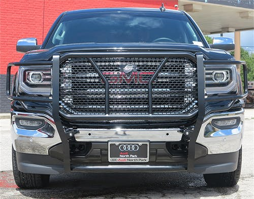 Steelcraft 50-0435 HD Grille Guards, Black