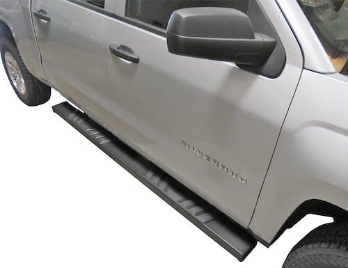 Steelcraft 500-02230 STX500 Running Boards, Textured Black