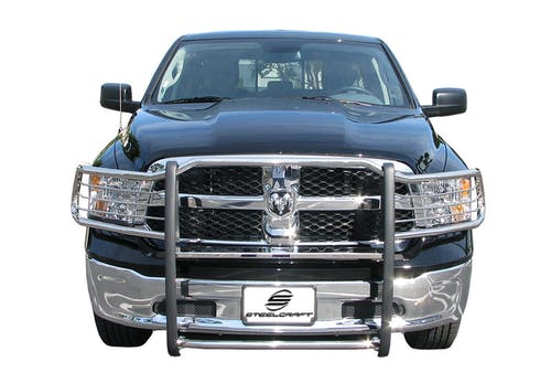 Steelcraft 52270 Grille Guard, Black