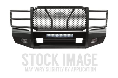 Steelcraft 60-10440 Elevation Front Bumper, Fine Textured Black