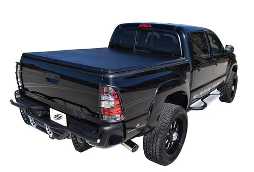 Steelcraft TN34011 Tri-Fold Tonneau Cover, Black
