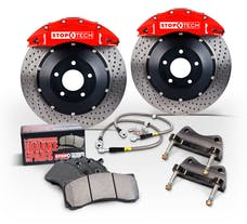 StopTech 83.107.0043.R4 Trophy Sport Big Brake Kit 2 Piece Rotor; Rear