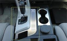 T-Rex Grilles 11959 T1 Interior Trim, Brushed, Aluminum, 1 Pc, Tape
