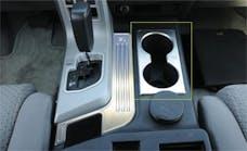 T-Rex Grilles 11960 T1 Interior Trim, Brushed, Aluminum, 1 Pc, Tape