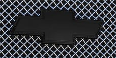 T-Rex Grilles 19100B Emblem Exterior Trim, Black, Aluminum, 1 Pc, Bolt-On