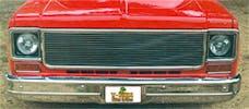 T-Rex Grilles 20005 Billet Grille, Polished, Aluminum, 1 Pc, Replacement