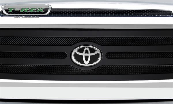 T-Rex Grilles 51966 Upper Class Grille, Black, Mild Steel, 1 Pc, Replacement