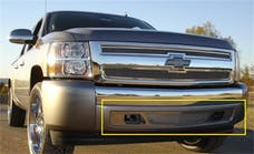 T-Rex Grilles 55110 Upper Class Bumper Grille, Polished, Stainless Steel, 1 Pc, Overlay