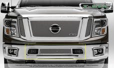 T-Rex Grilles 55785 Upper Class Bumper Grille, Polished, Stainless Steel, 1 Pc, Overlay