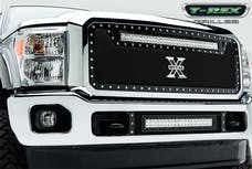 T-Rex Grilles 6315461 Torch Grille, Black, Mild Steel, 1 Pc, Insert