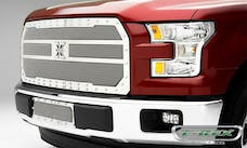 T-Rex Grilles 6725730 X-Metal Bumper Grille, Polished, Stainless Steel, 1 Pc, Insert
