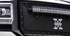 T-Rex Grilles 6319491-BR Stealth Torch Grille, Black, Mild Steel, 3 Pc, Insert
