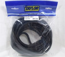 Taylor Cable Products 38092 1/4in Convoluted Tubing 25ft black