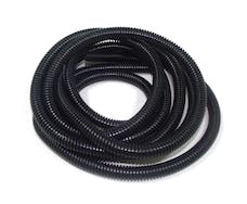 Taylor Cable Products 38110 3/8in Convoluted Tubing 50ft black