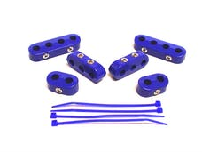 Taylor Cable Products 42760 7-8mm Separators Clamp Style blue