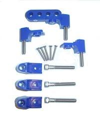 Taylor Cable Products 42762 Bracket Hortizontal 6/Pkg  Blue