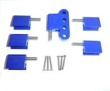 Taylor Cable Products 42766 Bracket Vertical 6/Pkg  Blue