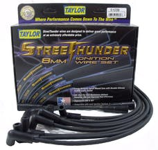 Taylor Cable Products 51039 Streethunder custom 8 cyl black