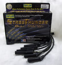 Taylor Cable Products 51049 Streethunder custom 6 cyl black
