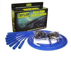 Taylor Cable Products 60654 High Energy TCW univ 8cyl 180 blue