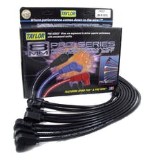 Taylor Cable Products 74001 8mm Spiro-Pro custom 8 cyl black