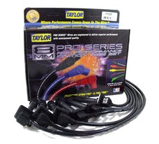 Taylor Cable Products 74068 8mm Spiro-Pro custom 6 cyl black
