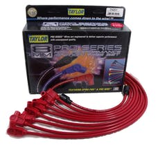 Taylor Cable Products 74201 8mm Spiro-Pro custom 8 cyl red