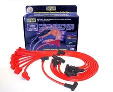 Taylor Cable Products 74202 8mm Spiro-Pro custom 8 cyl red