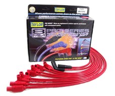 Taylor Cable Products 74225 8mm Spiro-Pro custom 8 cyl red