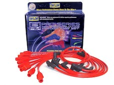 Taylor Cable Products 74276 8mm Spiro-Pro custom 8 cyl red