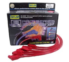Taylor Cable Products 74283 8mm Spiro-Pro custom 6 cyl red