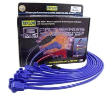 Taylor Cable Products 74601 8mm Spiro-Pro custom 8 cyl blue