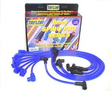 Taylor Cable Products 74602 8mm Spiro-Pro custom 8 cyl blue