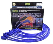 Taylor Cable Products 74628 8mm Spiro-Pro custom 8 cyl blue