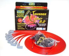 Taylor Cable Products 83251 Thundervolt 8.2 univ 8 cyl 90 red