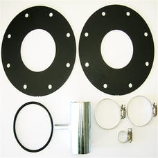 TITAN Fuel Tanks 0199003 LB7 Adaption Kit, Includes Two Heavy Gauge Metal Flanges And One O-Ring