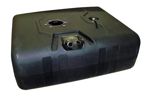 TITAN Fuel Tanks 8020199 55 Gallon Extra Heavy Duty, Cross-Linked Polyethylene Fuel Tank