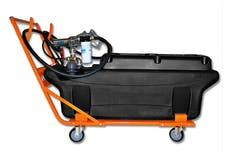 TITAN Fuel Tanks 6000001 60 Gallon Extra Heavy Duty, Cross-Linked Polyethylene Fuel Tank, Trolley/Ac Pump