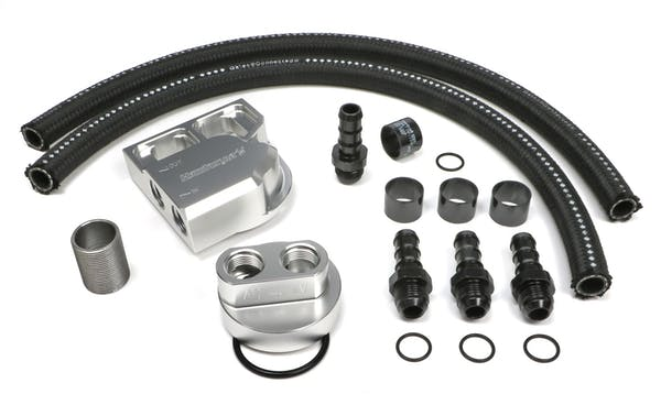Trans Dapt Performance 3358 Single Oil Filter Relocation Kit