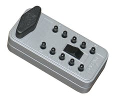 Tuffy Security 280-01 Combination Pushbutton Lock