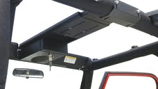 Tuffy Security 103-01 Overhead Console; Single Compartment Black