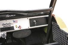 Tuffy Security 108-01 Bronco Security Glovebox 1966-77; BLACK
