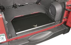 Tuffy Security 143-01 JK Rear Storage Compartment Locking Assembly Black; for 2007+JK Wrangler