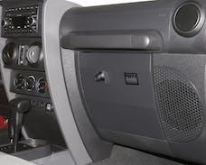 Tuffy Security 149-08 JK Glove Box-Dark Slate 11 5/8W X 8 7/16D X 11 1/8T for 2007+JK Wrangler